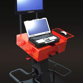 Diagnostic Trolley - IT/peripheral equipment storage